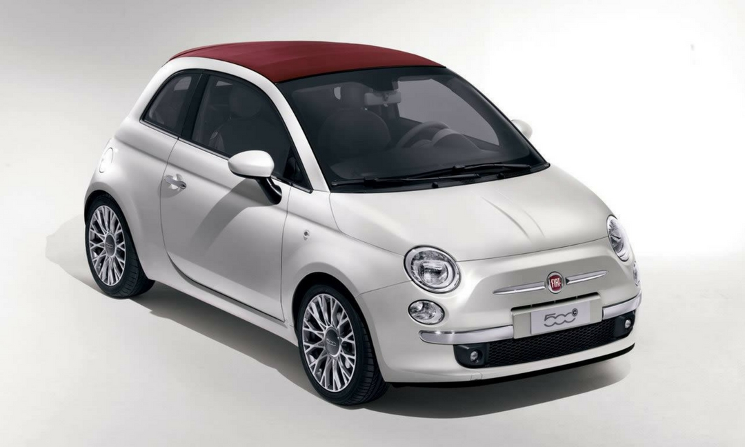 Fiat 500c opération internet Happy Drive