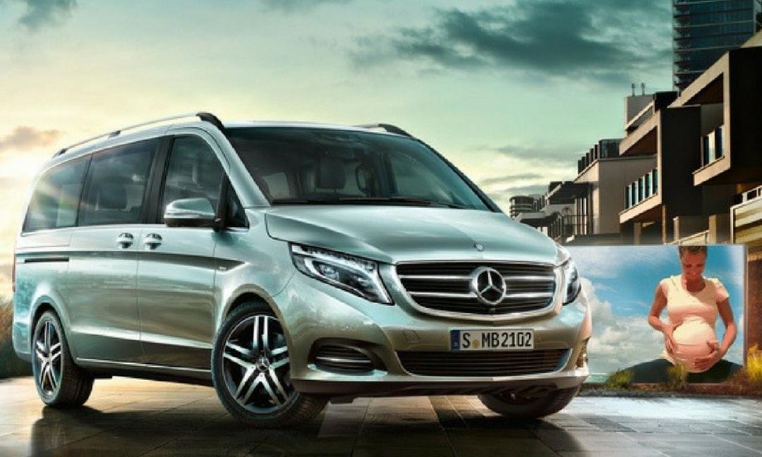 Mercedes Nouvelle classe V demain